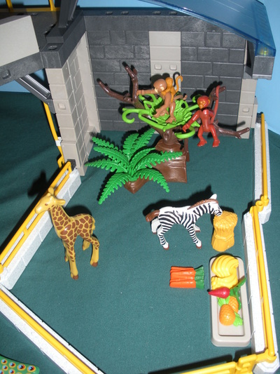Playmobil 5921 Zoo Of Baby Animals A Vintage Fisher
